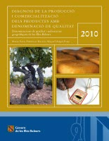 Diagonosi 2010 - Reference books - Resources - Balearic Islands - Agrifoodstuffs, designations of origin and Balearic gastronomy